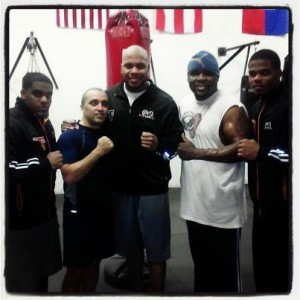 Flo Rida stops in to train at Sweatbox Boxing & Fitness and GET HIS SWEAT ON!!!!